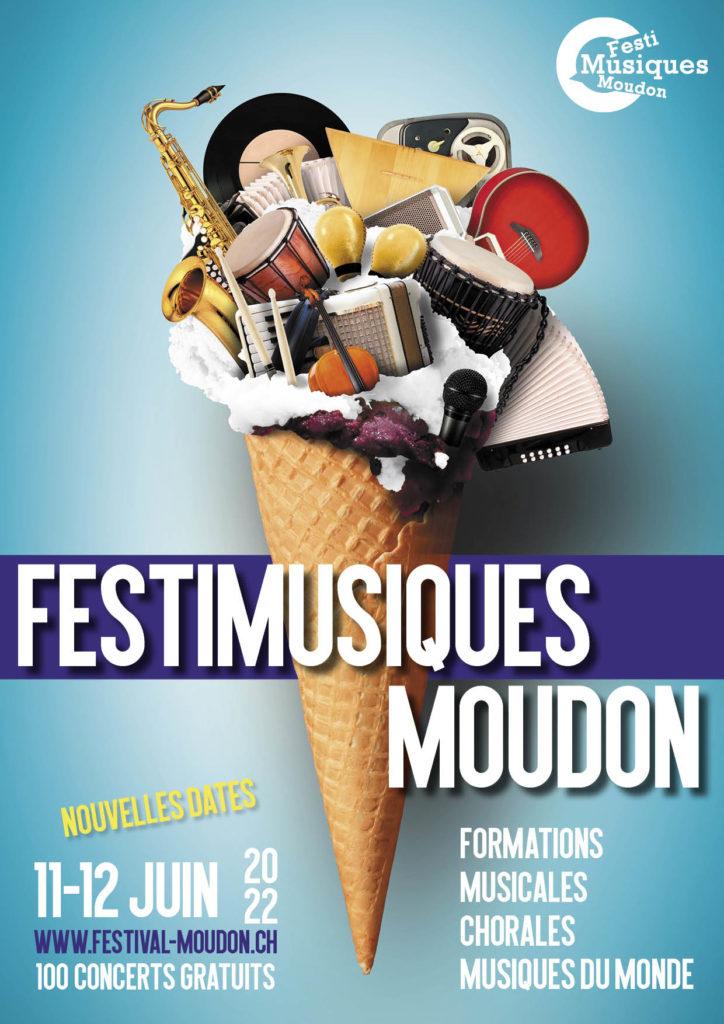 Festi Musiques Moudon - Affiche 2022