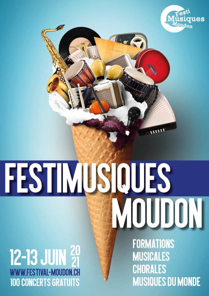 Festi Musiques Moudon - Affiche 2021